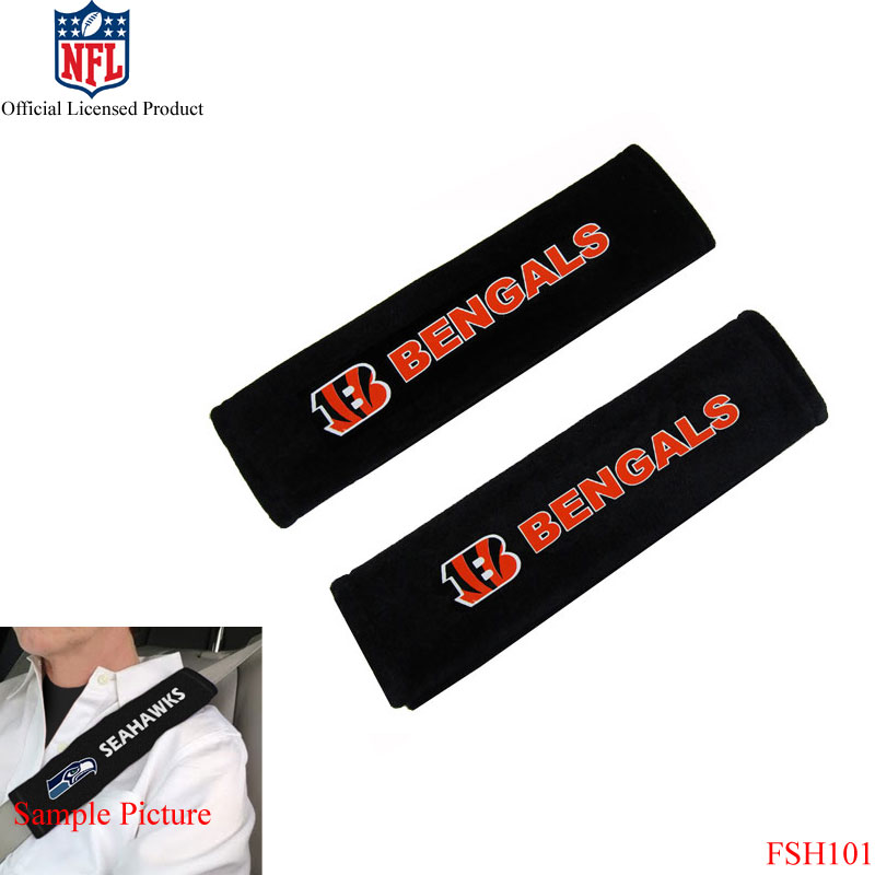 Brand New NFL Car Truck Seat Belt Pads Covers Shoulder