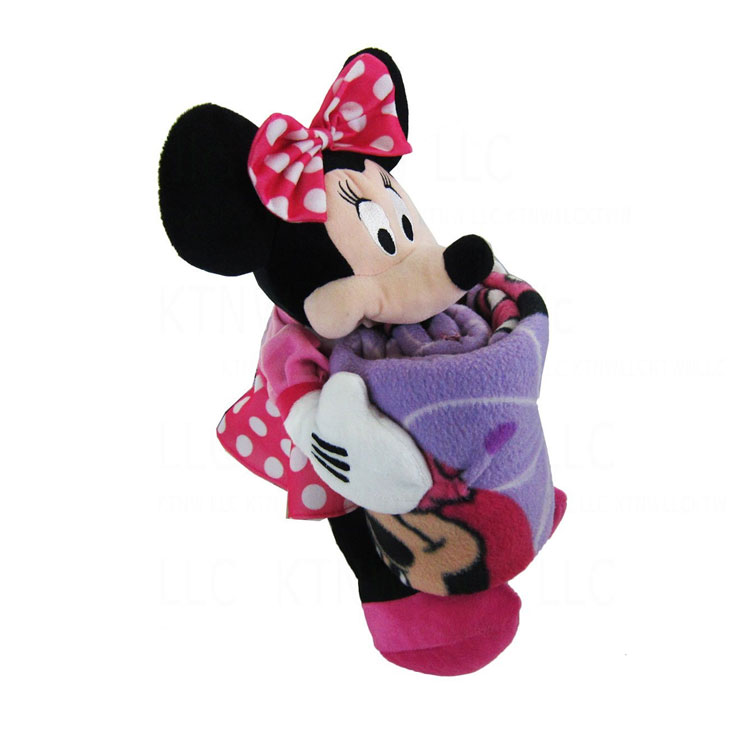 Minnie Throw And Pillow Set : Brand New Walt Disney Minnie Mouse Fleece Blanket Throw & Character Pillow Set eBay