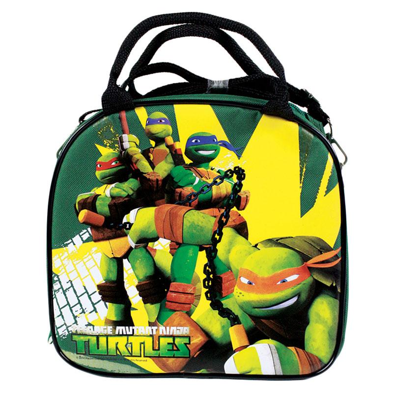 New Teenage Mutant Ninja Turtles Green School Lunch Box